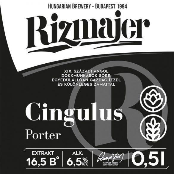 RIZMAJER CINGULUS PORTER (FEKETE SÖR) 0,5 l