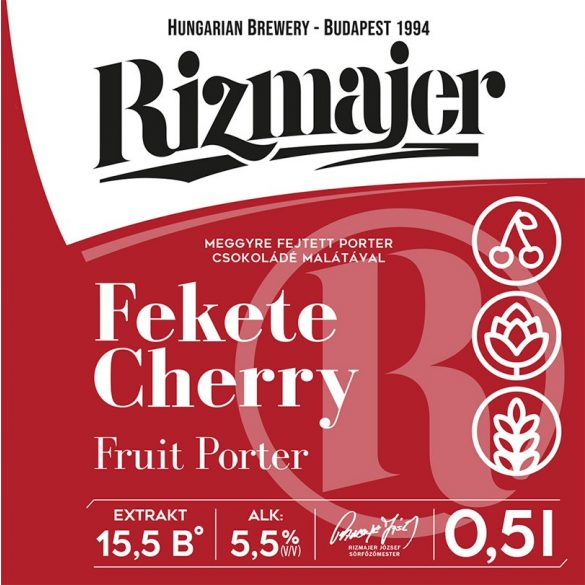 RIZMAJER FEKETE CHERRY 0,5 l
